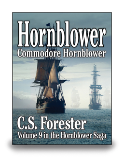 Commodore Hornblower - cover
